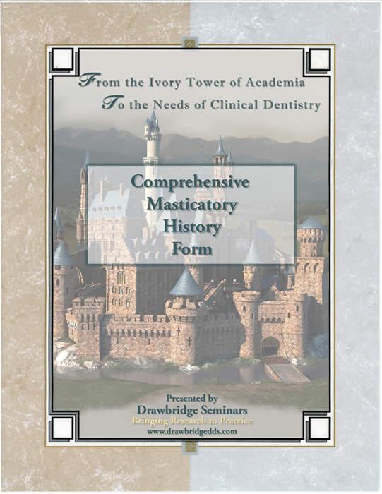 Comprehensive TMD Exam Form